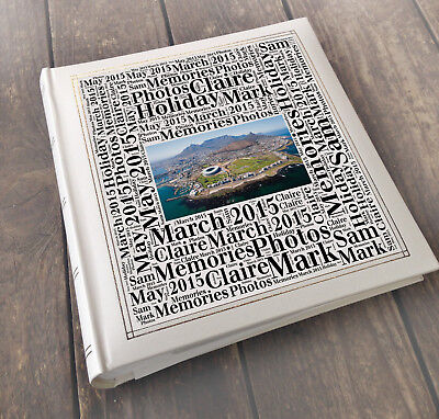 "Large photo album memory book, 200 7x5"" photos holiday Cape Town South Africa"