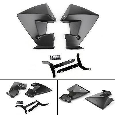 ABS Radiator Side Cover Body Protecter For Yamaha MT-07 FZ-07 2013-2016 Black