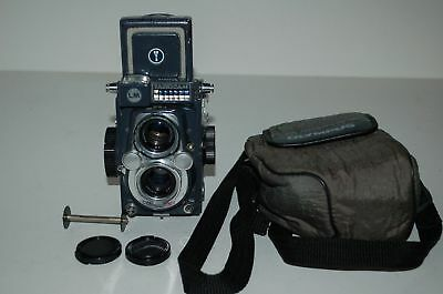 Yashica 44 LM Vintage 1959 TLR Medium Format Camera. Serviced. 3040572. UK Sale.