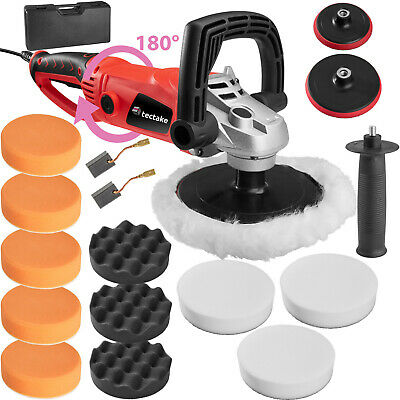 Car Polisher Sander Polishing Machine 1600 Watt + Case + Sponge Set