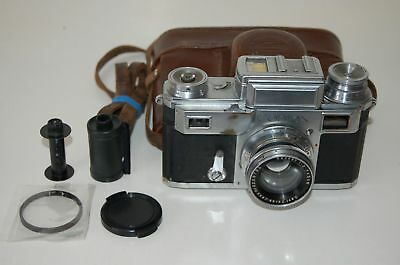 Zeiss Ikon Contax-III Rangefinder Camera & Case. Serviced. 1938. G12272. UK Sale