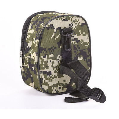 Fishing Reel Mini Pocket Tackle Pouch Outdoor Fishing Reel Protect Canvas Case