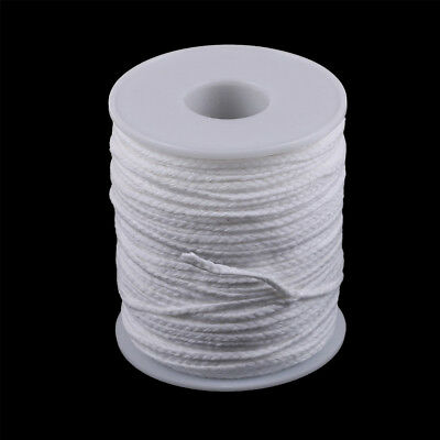 Spool of Cotton White Braid Candle Wicks Core Candle Making Supplies  O
