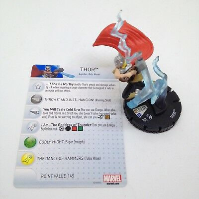 Heroclix Nick Fury, Agent of SHIELD set Thor (Jane Foster) #050 Super Rare fig!