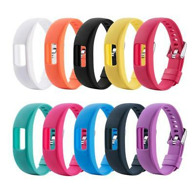 Replacement Wrist Band Silicone Watchband Watch Band Strap for Garmin Vivofit 4