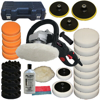 Car Polisher Sander Polishing Machine 1500 Watt + Lots of Accessories + Polish