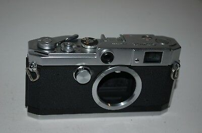 Canon-L3 Vintage 1958 Japanese Rangefinder Camera. Serviced. No.577889. UK Sale