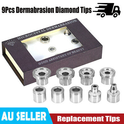 9 Tips Replacements Diamond Dermabrasion Rejuvenation Facial Therapy Care Case