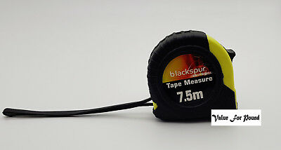 7.5Meter Heavy Duty Tape Measure With Safety Lock And Hook For Work And Home