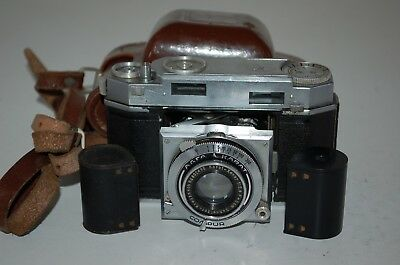Agfa Karat Vintage German Rangefinder Camera. Serviced. UK Sale