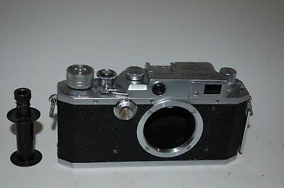 Canon-4sb Vintage 1952 Japanese Rangefinder Camera. Serviced. No.137253. UK Sale