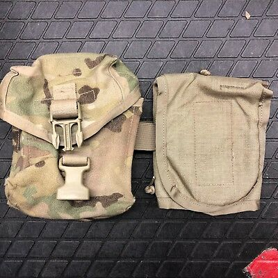 US ARMY MULTICAM MOLLE II IFAK POUCH mit INSERT IMPROVED FIRST AID KIT