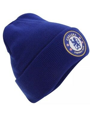 f358abae2f0 Chelsea Knitted Hat Winter Beanie TU RY Gift New Official Licensed Football  Club