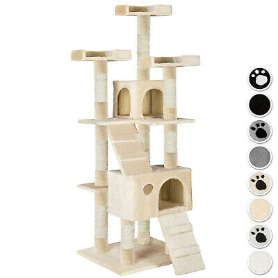 Large Cat Tree Scratch Scratcher Scratching Post Toy Activity Centre
