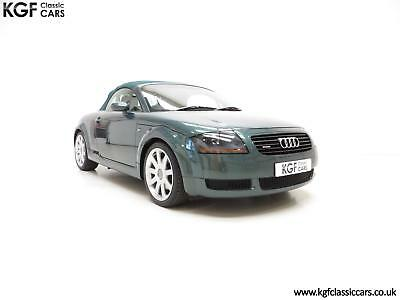 A Wonderful Audi TT Quattro Roadster with Full Service History and Two Owners