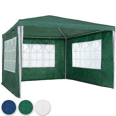 Gazebo for Garden Party Camping Festivals Beer Tent+removable sides 3 x 3m