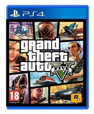 GTA 5 GRAND THEFT AUTO V 5 - GIOCO Playstation 4 PS4 NUOVO SIGILLATO