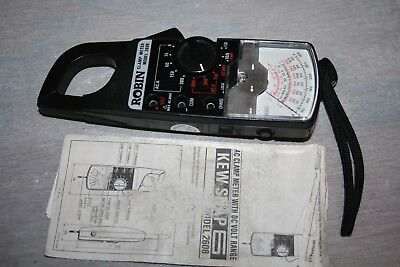 Analog Clamp Meter Model 2608 With Case