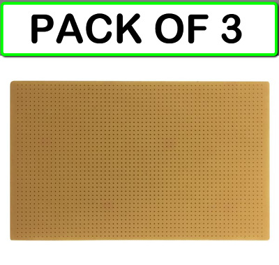 "(3- PACK) VELLEMAN BBO3 BARE PROTOTYPE BOARD (NO COPPER, BARE BD) (3.94 x 6.30"")"