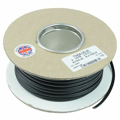0.5mm² 2-Core Flat Twin Thin Wall Cable Wire 16/0.2mm 30M