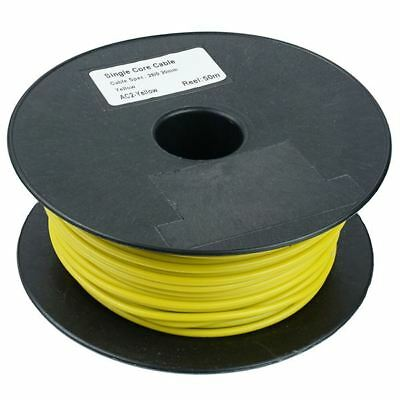 80 COLOURS IN STOCK 50m REEL of 12v Auto cable wire 1mm² 16.5A cable