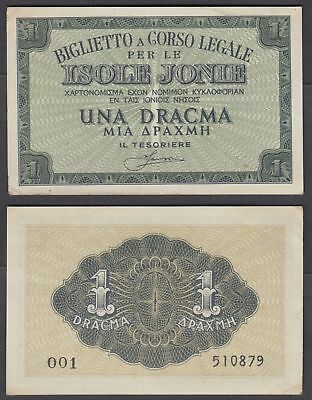 1.99 $ FOR 1 NOTE GREECE  2000000000 DRH 11-10-1944