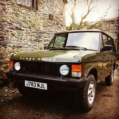 1992 Range Rover 2 door LHD UK registered MOT'd and ready to go!