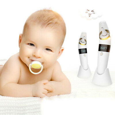 Digital Ear Thermometer Kids Baby Infra Red LCD Temperature Medical