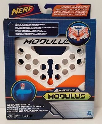 Nerf N-Strike Modulus Storage Shield Holds 24 Elite Darts Hasbro NEW