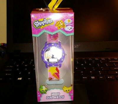 Shopkins Mood Dial LCD Watch New