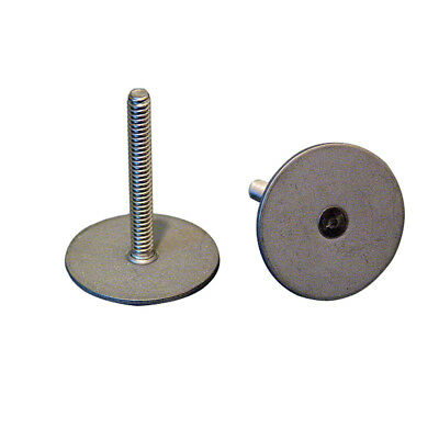 """Weld Mount .75"""" Tall Stainless Stud w/#10 x 24 Threads - Qty. 10"""