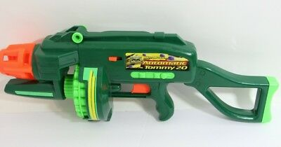 Buzz Bee Toys Air Blasters Motorized Automatic Tommy 20 Tested Works No darts