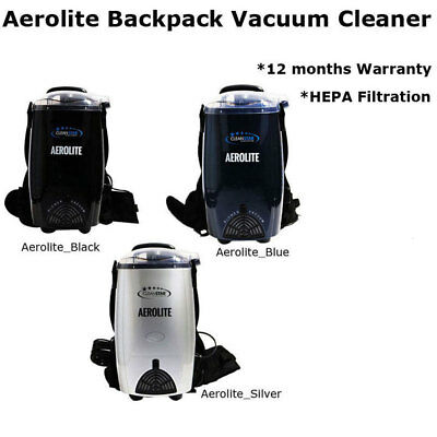 Aerolite Lightweight 1400W, 4L Backpack Vacuum Cleaner with Blower