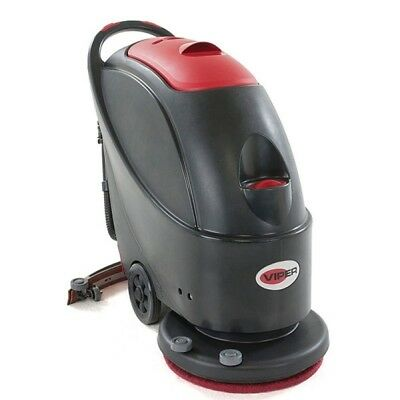 VIPER AS510B Battery Operated Compact Walk Behind Scrubber Dryer