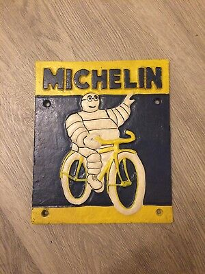 1937 London based cast iron michelin tire sign