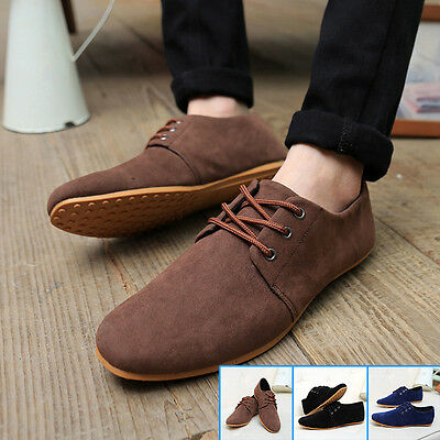 Men's Shoes England Breathable Casual Canvas Sneakers Running Shoes Fashion