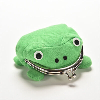Uzumaki Naruto Frog Shape Cosplay Coin Purse Wallet Soft Furry Plush Gift