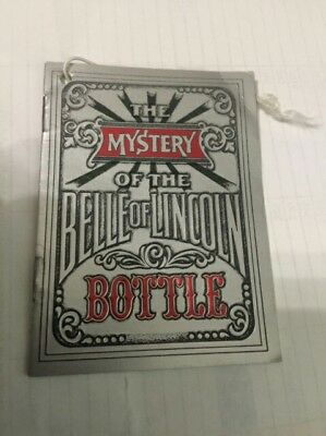 Jack Daniels Belle Of Lincoln Neck Tag Booklet