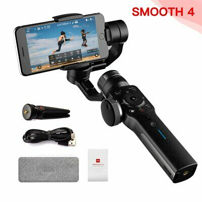 Zhiyun Smooth 4 3 Axis Handheld Gimbal Stabilisateur pour iPhone X 8 Samsung FR