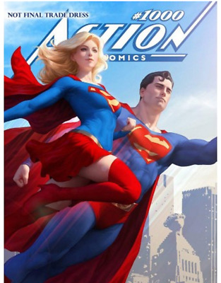 Action Comics #1000 Artgerm Exclusive Variant Cover RARE Limited Edition