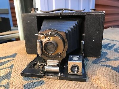 Antique Eastman Kodak Brownie No 3 Folding Camera c1900's
