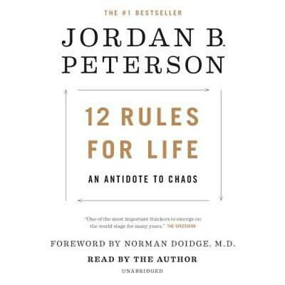 12 Rules for Life: An Antidote to Chaos by Jordan B Peterson: New Audiobook