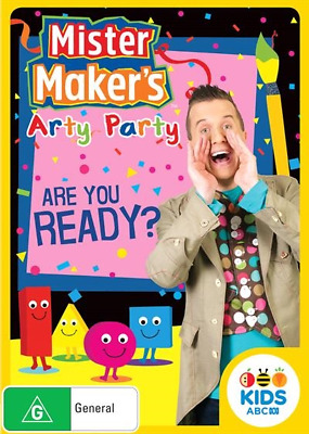 Mister Maker's Arty Party - You Ready? (2018) (DVD) (Region 4) New Release