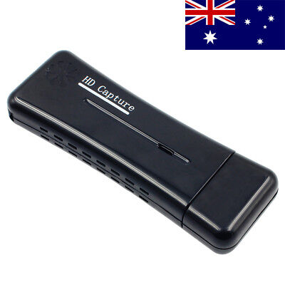AU USB Video Capture Device - 1080p HD Game HDMI Capture Card (USB 2.0)