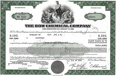 The Dow Chemical Company, 8,5% Debenture due 2006, 1976 (100.000 $)