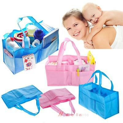 Portable Baby Diaper Bag Nappy Changing Organizer Insert Storage Outdoor Liner