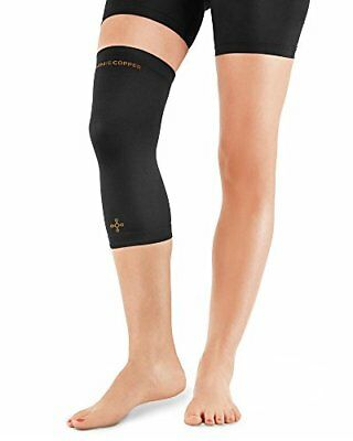 Tommie Copper Women's Recovery Refresh Knee Sleeve, Black, X-Large