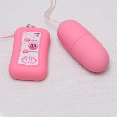 50 Speed Wireless Remote Control Vibrating Egg Stimulator Vaginal Vibrator sex