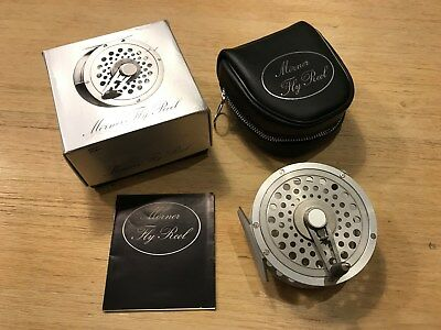 Vintage Fly Reel Mörner Salmon 4´ ,1´wide, NEW, unused