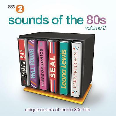 BBC2 SOUNDS OF THE 80S VOLUME 2 - UNIQUE COVERS OF CLASSIC HITS 2CDs (NEW)